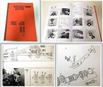 Reparaturhandbuch Deutz DX 85 90 120 Werkstatthandbuch Getriebe TW90 1982