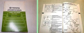Werkstatthandbuch Toyota Land Cruiser Station Wagon Reparaturhan