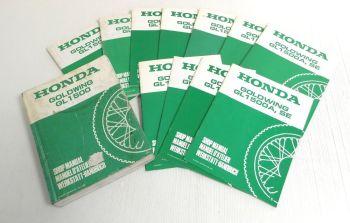 Honda GL1500 Goldwing Werkstatthandbuch 1988 - 1998 Shop Manual Manuel D Atelier