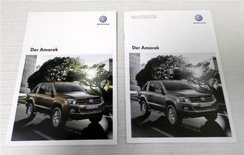 VW Amarok Broschüre + Preisliste und technische Daten 2013