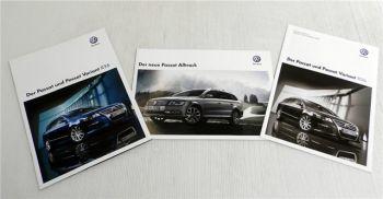VW Passat B7 / Passat Variant R36 2010 / Alltrack 2012 Broschüren & Preisliste