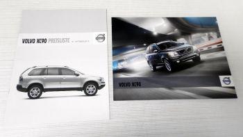 Volvo XC90 Broschüre + Preisliste Technik & Ausstattung 2011