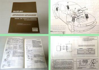 Werkstatthandbuch Suzuki Baleno Reparatur Aufhängungsregelung St