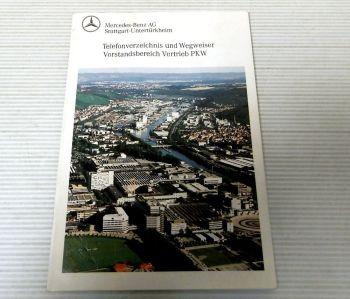 Mercedes Benz AG Telefonverzeichnis und Wegweiser Vorstand Vertr