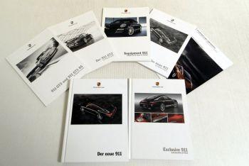 Porsche 911 / 911 GT3 / RS / GT2 Katalog Modelle in Daten Techni