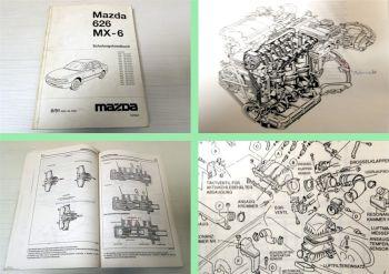 Werkstatthandbuch Mazda 626 MX-6 Schulungshandbuch 1991