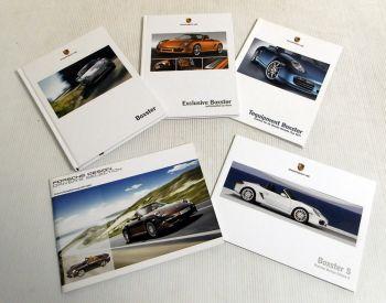 Porsche Boxster / Boxster S Katalog Technik Ausstattung Modellfa