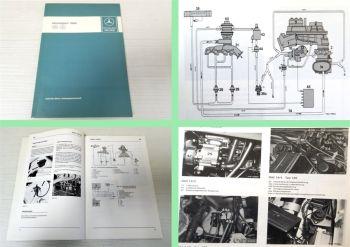Werkstatthandbuch Mercedes Benz Typ 107 123 126 201 Einführung CH Schweden 1984