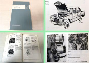 Werkstatthandbuch Mercedes Benz M110 117 450 SL SLC Australien USA Schweden 1977