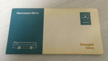 Mercedes Benz O303 305 307 Wartungsheft Omnibusse Typ 301 10/197