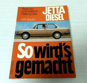 Werkstatthandbuch VW Jetta diesel 1.6 l 54 PS CR Jetzt helfe ich