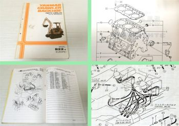 Ersatzteilkatalog Yanmar B22-2 Crawler Backhoe Parts Catalog 11/