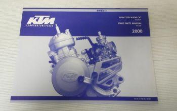 Ersatzteilkatalog KTM 60 65 SX 2000 Ersatzteilliste Motor Parts List