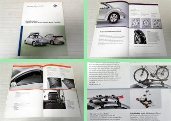 VW New Beetle + Cabriolet Zubehör Katalog 2005