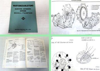Werkstatthandbuch Nissan Datsun 100A 120A FII FS3WF60S Automatik