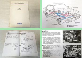 Nissan 200SX S13 300ZX Z32 Maxima J30 ABS Technologie Schulung