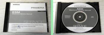 orig. Werkstatthandbuch Nissan Primera P12 Reparaturanleitung  CD ab 2002 / 2004