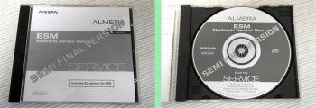 orig. Werkstatthandbuch Nissan Almera N16 Reparaturanleitung  CD Stand 9/2002