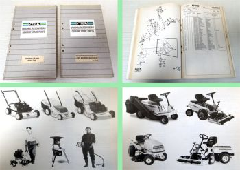 Stiga Lawn Garden Machines ride-ones parts list original reservd