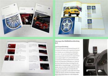 VW Scirocco 3 Zubehörkatalog 2008 + Leichtmetallrad Programm 200
