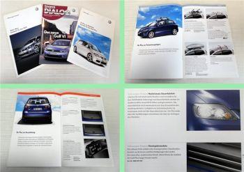 VW Golf VI Zubehör Katalog + Zeitschrift VW Dialog 2008