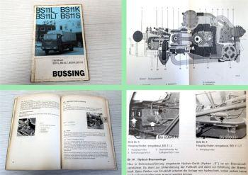 Büssing BS11L 11LT 11K 11S Handbuch Betriebsanleitung Wartung 19