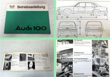 Audi 100 C2 Betriebsanleitung Bedienungsanleitung 1977