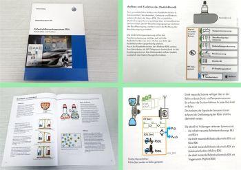SSP 541 VW Reifendrucküberwachung 2014 Funktion Selbststudienprogramm