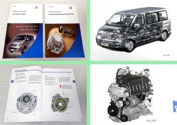 SSP 309 310 VW Transporter Multivan T5 Automatikgetriebe 09G 09K 09M