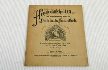 Herzkrankheiten und Behandlung durch diätetische Heilmethode F. Kles  ca.1915/20