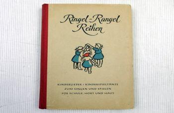 Ringel Rangel Reihen Kinderlieder Kinderspieltänze 1948 Herbert