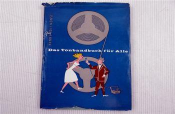 Das Tonbandbuch für Alle Hanns Rolf Monse 1963