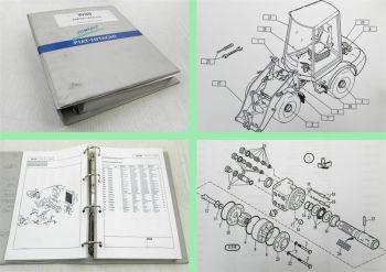 Fiat Hitachi W80 Radlader Ersatzteilliste Ersatzteilkatalog Part