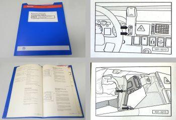 orig. Reparaturleitfaden VW Transporter T4 Radio Alpha Beta Gamm