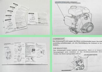 Honda GX100 Motor Bedienungsanleitung Bedienungsanleitung manual