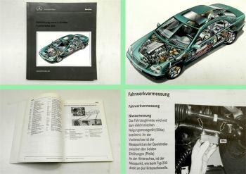 Mercedes Benz C-Klasse Typ 203 Schulung Einführungsschrift Neuer