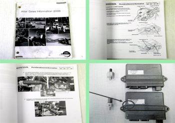 Technische Informationen 2006 für Honda Motorgeräte Händler