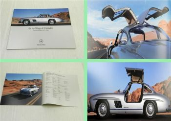 Brochure Mercedes Benz 300 SL Coupe W198I History Technical data 2004