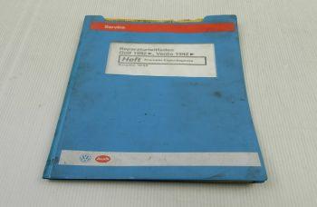 VW Golf 3 Vento Typ1H Reparaturleitfaden Anleitung Ecomatic Eigendiagnose 1993