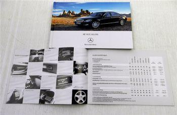 Mercedes Benz S-Klasse Baureihe 221 Prospekt + Preisliste 2005
