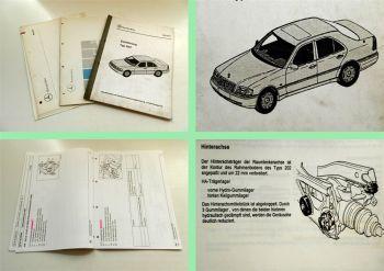 Mercedes Benz 3 Schulungshandbücher Service ABS Einführung Typ 2