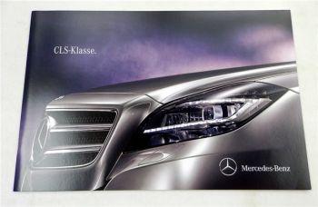 Mercedes Benz CLS-Klasse Prospekt Technische Daten  2010
