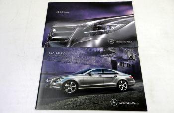 Mercedes Benz CLS-Klasse C218 Prospekt 2010 + Preisliste 2011