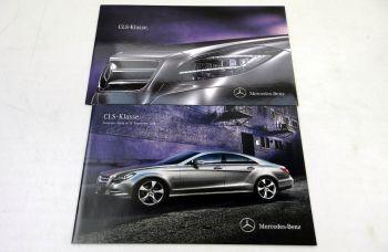 Mercedes Benz CLS-Klasse C218  Prospekt 2010 + Preisliste 2010