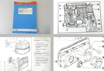 Werkstatthandbuch VW Corrado Elektrische Anlage Reparaturleitfaden ab 1989