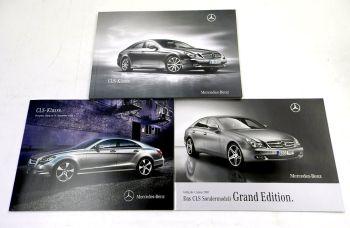 Mercedes Benz CLS-Klasse C218 + Sondermodell 2 Prospekte 2009 +