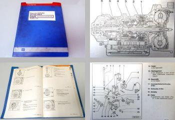 Werkstatthandbuch VW Corrado Automatik Automatisches Getriebe 09