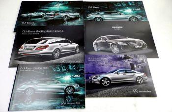 Mercedes Benz CLS-Klasse C218 / X118 + Brabus 3 Prospekte + 3 Pr