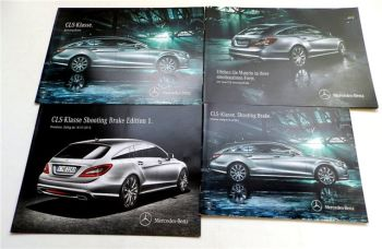 Mercedes Benz CLS-Klasse Shooting Brake X118 2 Prospekte + 2 Pre