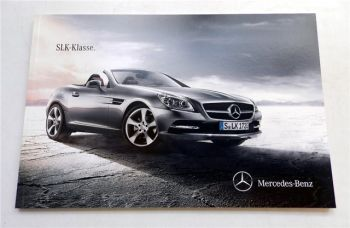 Mercedes Benz SLK-Klasse R172 Prospekt 2010